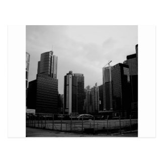 Ciudad abandonada ciudad abstracta postales