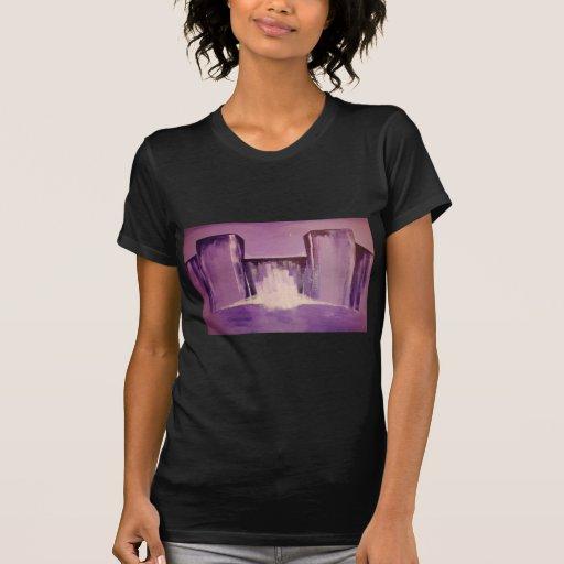 Ciudad abstracta tshirts