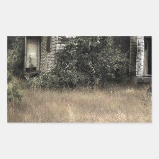 Ciudad abstracta Verlassenes Haus Rectangular Altavoces