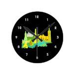 ciudad amarilla graphic.png de Dublín Irlanda Reloj