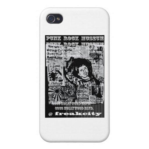 Ciudad anormal del museo del punk rock @ iPhone 4/4S fundas