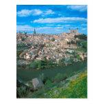 Ciudad antigua de Toledo, España Postal