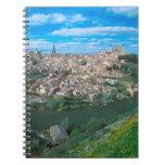 Ciudad antigua de Toledo, España Spiral Notebook