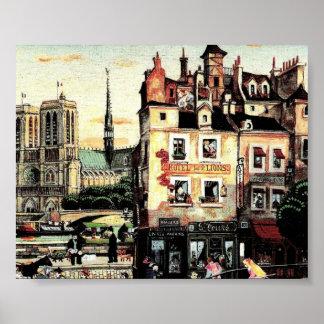Ciudad antigua póster