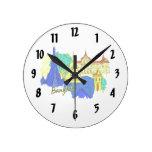 ciudad azul graphic.png del viaje de Bangkok Relojes