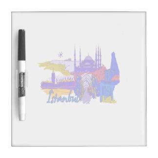 ciudad azul image.png de Estambul Pizarra