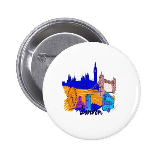 ciudad azul image.png de Londres Pin