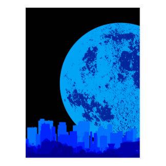 Ciudad azul postal