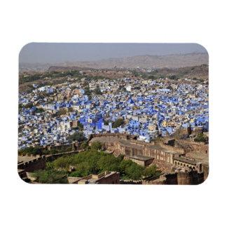 Ciudad azul vista del fuerte/de Jodhpur de Mehrang Imanes De Vinilo