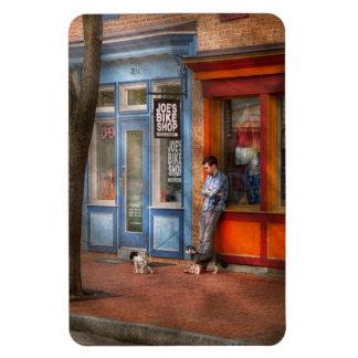 Ciudad - Baltimore, MD - esperando por la tienda Imán De Vinilo