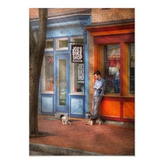 """Ciudad - Baltimore, MD - esperando por la tienda Invitación 5"""" X 7"""""""
