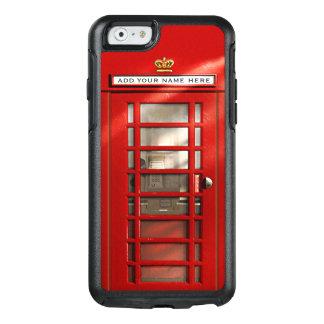 Ciudad británica divertida de la cabina de funda otterbox para iPhone 6/6s