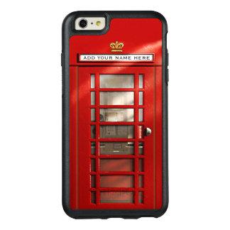 Ciudad británica divertida de la cabina de funda otterbox para iPhone 6/6s plus