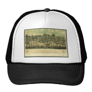 Ciudad California de Sacramento en 1849 por los Gorro