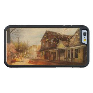 Ciudad - California - la ciudad de Downieville Funda De iPhone 6 Bumper Arce