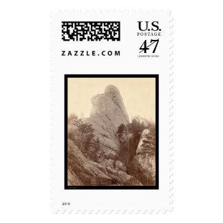 Ciudad cercana máxima SD 1893 de Custer de la Timbres Postales