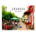 Ciudad colonial de la postal de Granada Nicaragua