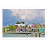 Ciudad colorida de la esperanza, Bahamas Postales