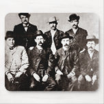 """Ciudad """"Comisión de Dodge de la paz"""" circa 1883 Mouse Pads"""