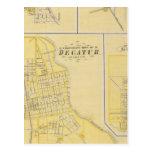 Ciudad corporativa de Decatur Tarjeta Postal