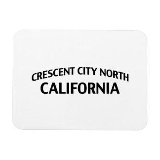 Ciudad creciente California del norte Iman De Vinilo