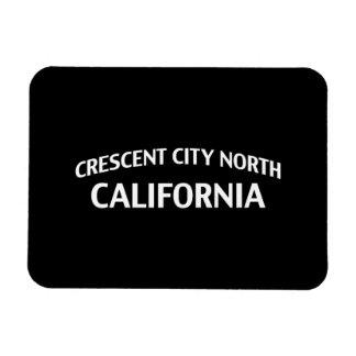 Ciudad creciente California del norte Rectangle Magnet