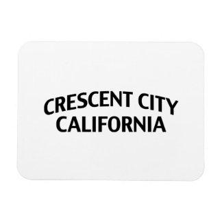 Ciudad creciente California Imán Foto Rectangular