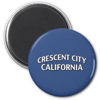 Ciudad creciente California Imán Redondo 5 Cm