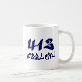 Ciudad de acero del representante (412) tazas