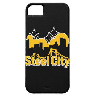Ciudad de acero iPhone 5 protector