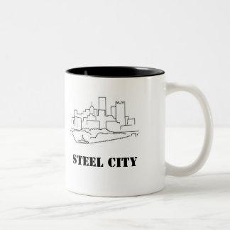 Ciudad de acero taza