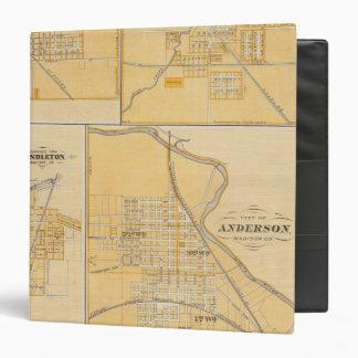 """Ciudad de Anderson con Frankton Carpeta 1 1/2"""""""