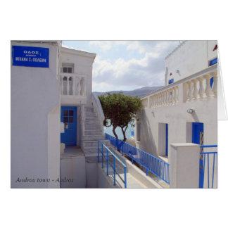 Ciudad de Andros - Andros Tarjeta Pequeña
