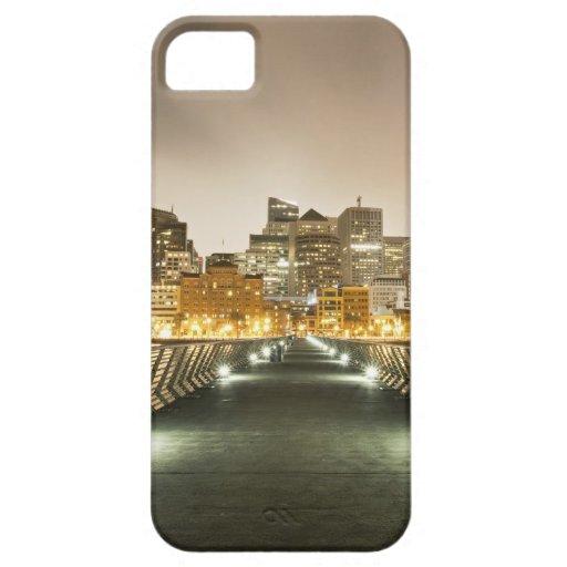 Ciudad de ángulos iPhone 5 carcasa