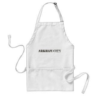 Ciudad de Arkham apenada Delantales