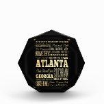 Ciudad de Atlanta del arte de la tipografía del es