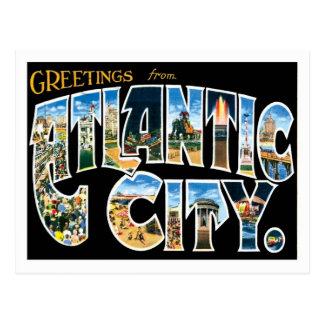 Ciudad de Atlantic City New Jersey los E.E.U.U. Tarjeta Postal