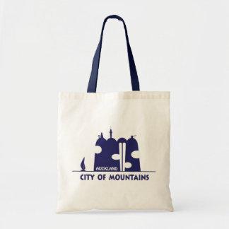 Ciudad de Auckland: Ciudad de montañas Bolsa Tela Barata