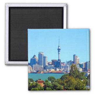 ciudad de Auckland Imán Cuadrado