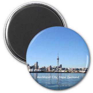 Ciudad de Auckland, Nueva Zelanda Imán Redondo 5 Cm