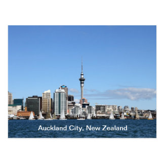 Ciudad de Auckland, Nueva Zelanda por día Postal