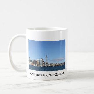 Ciudad de Auckland, Nueva Zelanda por día Taza