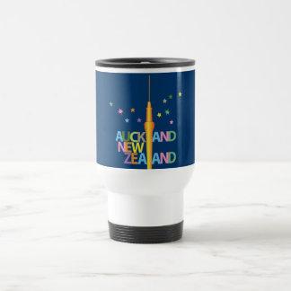Ciudad de Auckland Torre del cielo Taza De Café