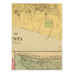 Ciudad de Augusta con Tietzville, adoptiva Tarjeta Postal