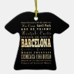 Ciudad de Barcelona del arte de la tipografía de E Adorno De Reyes