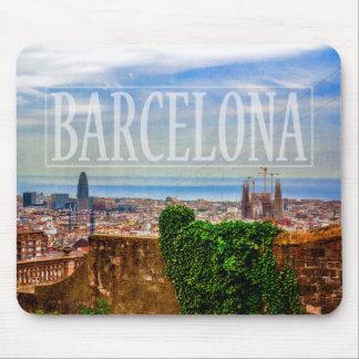 Ciudad de Barcelona Alfombrilla De Ratón