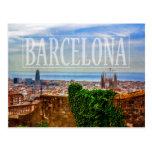 Ciudad de Barcelona Tarjeta Postal