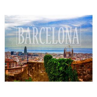 Ciudad de Barcelona Tarjetas Postales