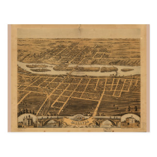 Ciudad de Batavia el condado de Kane Illinois Postales