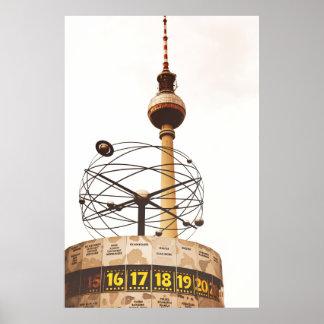Ciudad de Berlín Póster